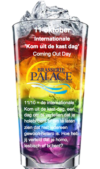 11/10 = de internationale Kom uit de kast-dag, een dag om te vertellen dat je holebi bent of om te laten zien dat niet iedereen gewoon hetero is. Hoe heb jij verteld dat je homo, lesbisch of bi bent?