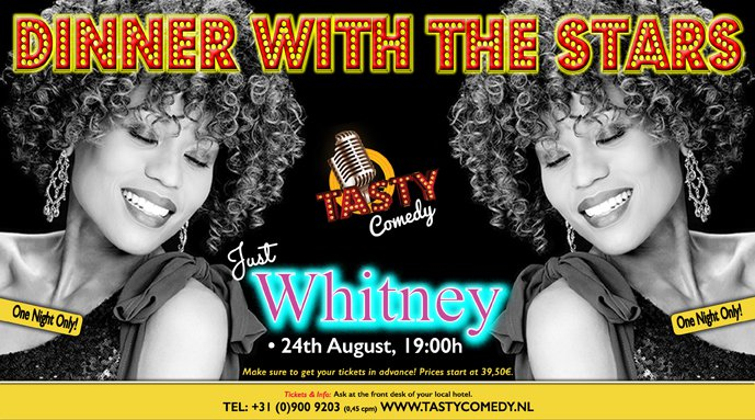 Dinner with the stars Just Whitney Scheveningen