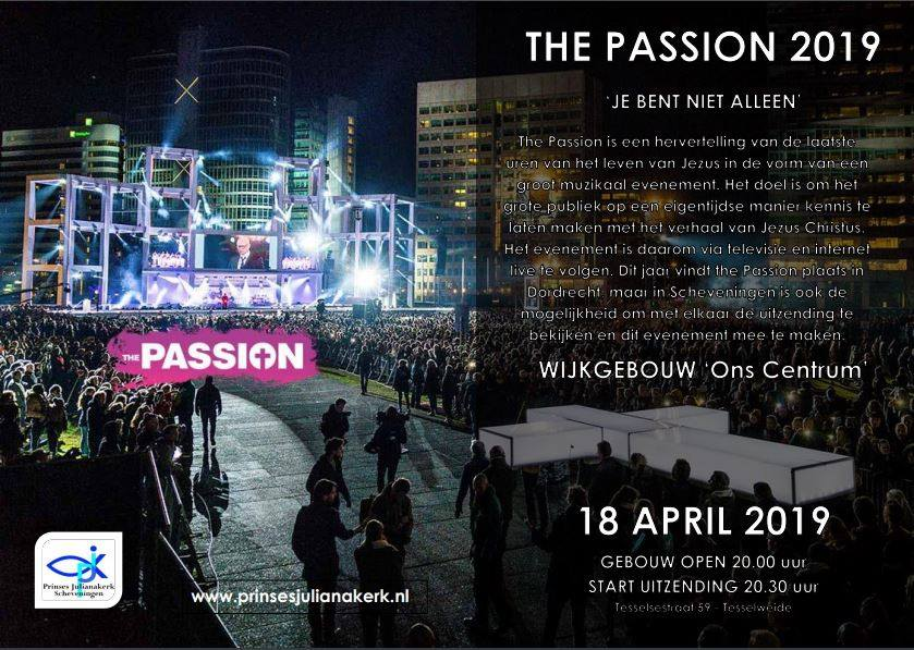 The Passion 2019 LIVe Ons Centrum Scheveningen
