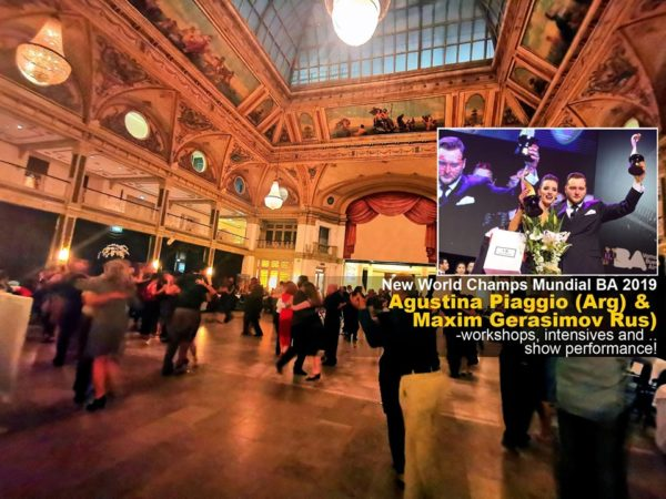 World Tango Congress Neo - Traditional - 3 Halls, Netherlands Kurhaus Scheveningen World Tango Society