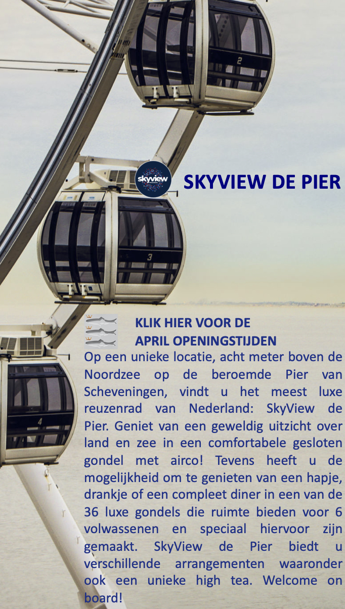 SkyView De Pier Scheveningen Dutch Wheels April